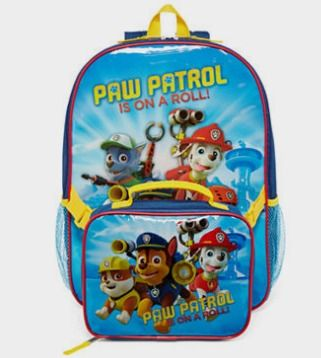 Paw Patrol Puppy Blast Backpack and Lunchbox - JCPenney http://fave.co/2d1aoYs