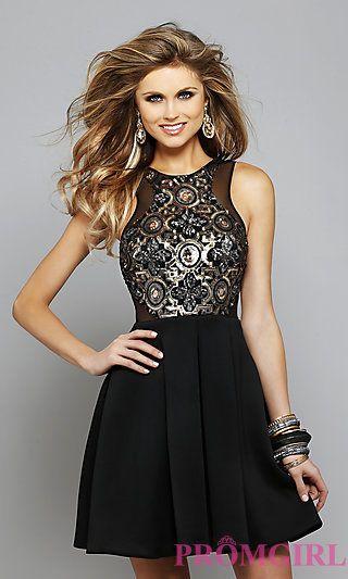 Black Prom Dresses Short