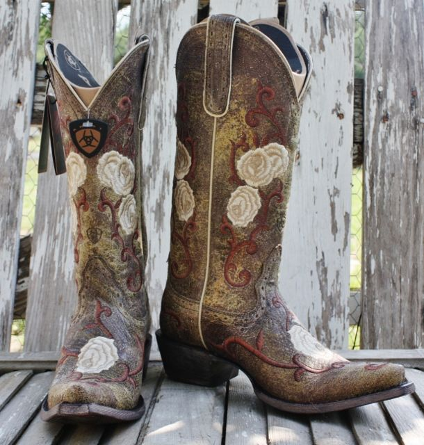 Corazon Shattered Marble Cowboy Boot by Ariat WAS $329.00 ON SALE ...