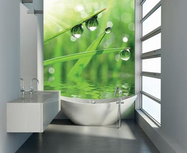 Small Bathroom Decor Ideas Wall Mural Photo Wallpaper Gr