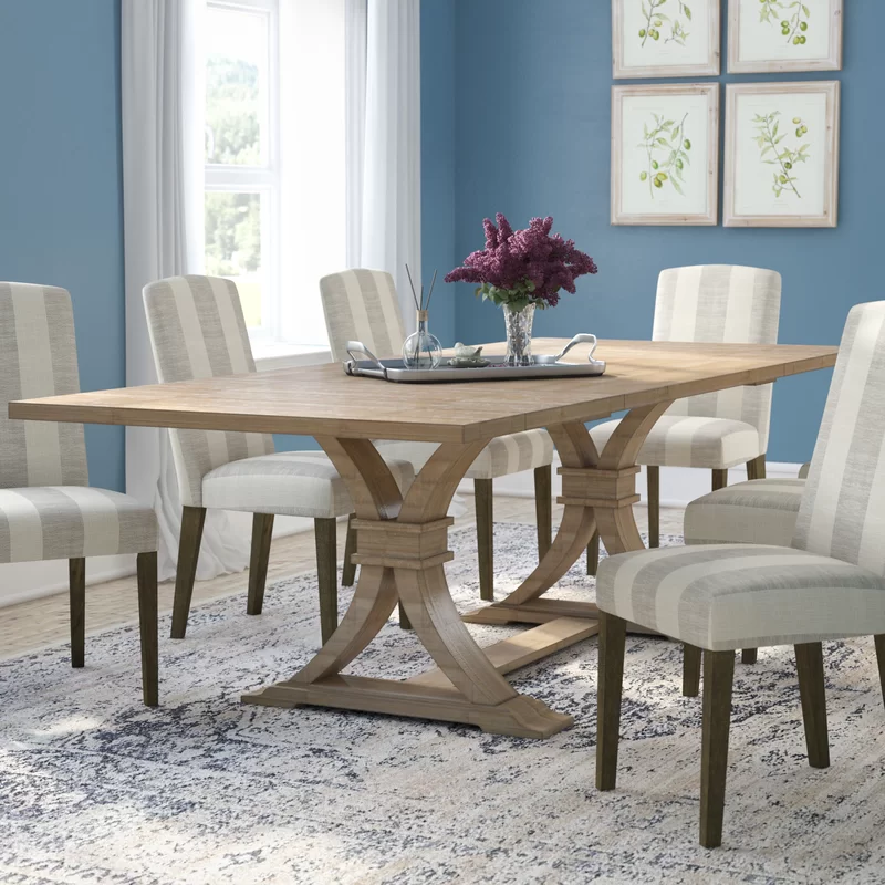 Gracie Oaks Dewitt Extendable Dining Table Reviews Wayfair In 2020 Dining Table In Kitchen Dining Table Solid Wood Dining Table