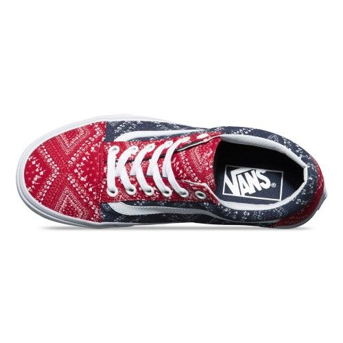 Ditsy Bandana Old Skool Shoes
