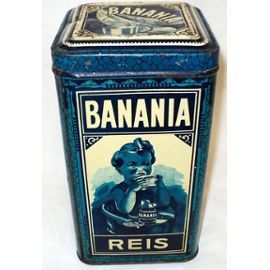 superbe et rare boite banania praha th que banania pinterest superbe boite et bo tes. Black Bedroom Furniture Sets. Home Design Ideas