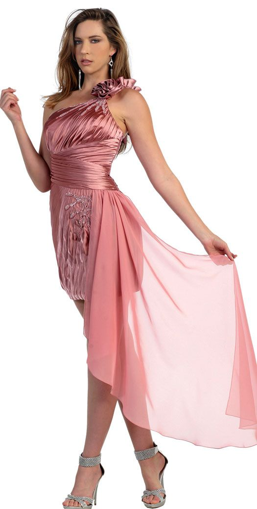 Hermoso vestido corto de fiesta graduaciones de estudiante en ...