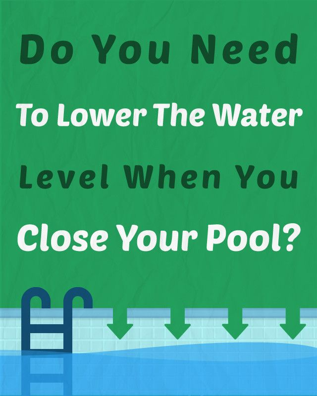 How To Close An Inground Pool In 9 Steps Pool Pool Care Swimming Pool Cleaning