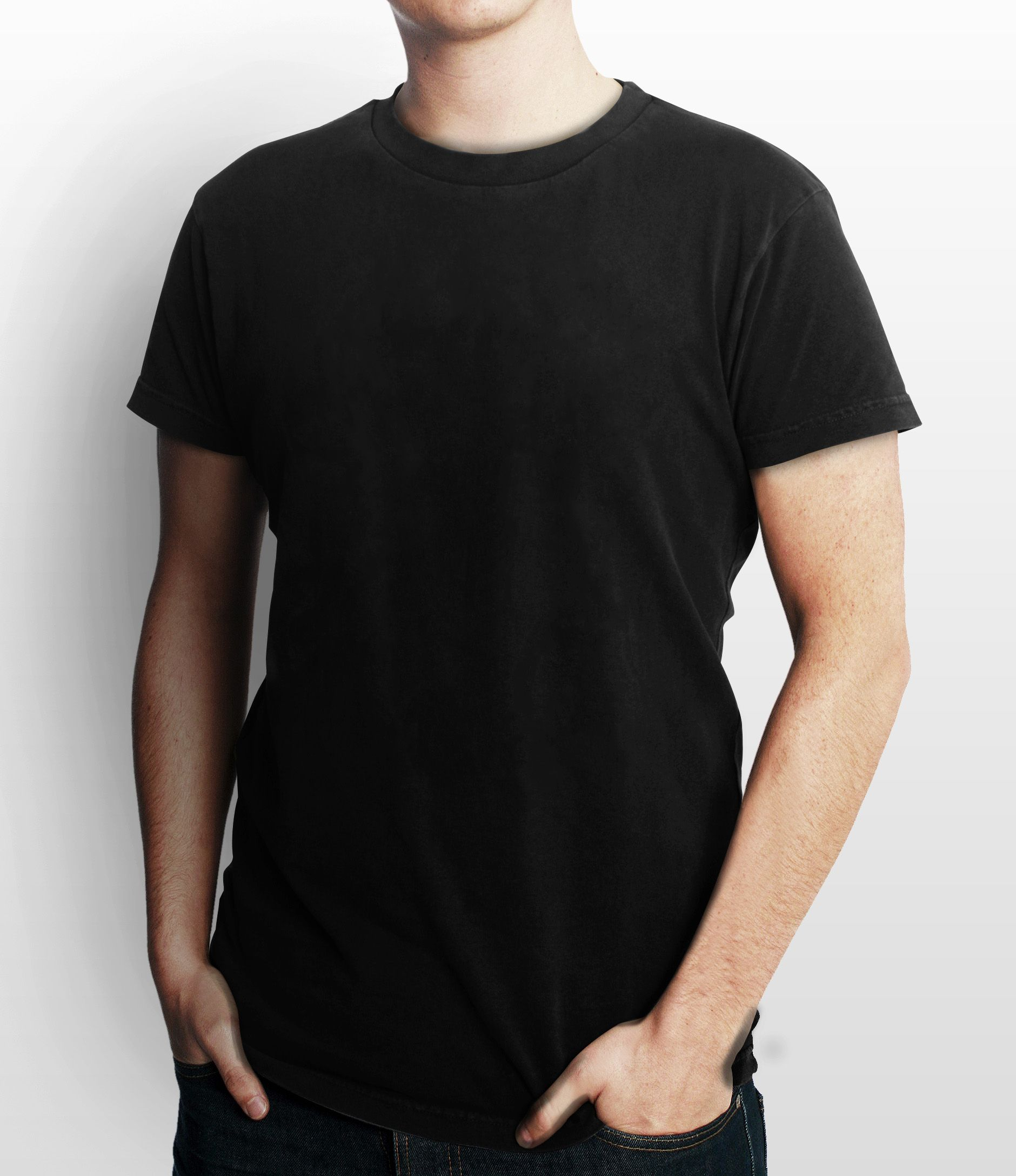 Kaos Polos Black Bahan Cotton Harga Uk Ss 15000 S M Tendencies Short Shirt Grey Stripe Pocket Abu Muda L