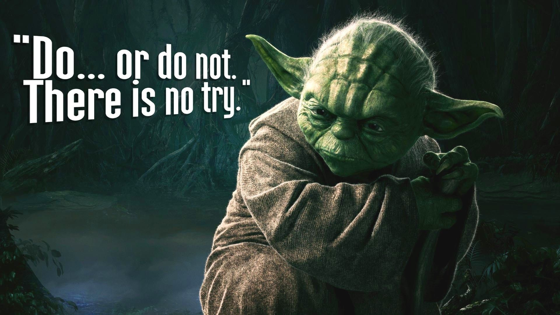 Iphone wallpaper yoda - Yoda Do Or Do Not Hd Wallpaper