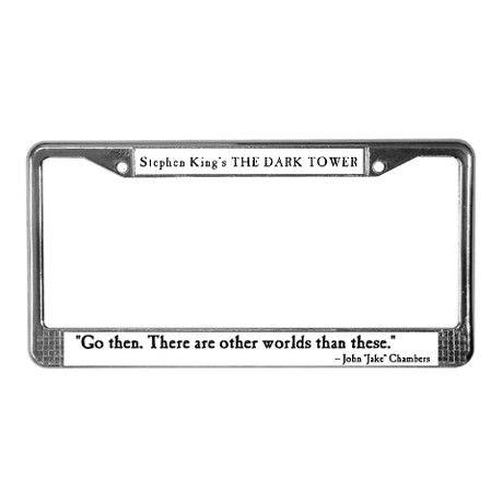 Stephen King Dark Tower License Plate Frame License Plate Frames Frame Plates