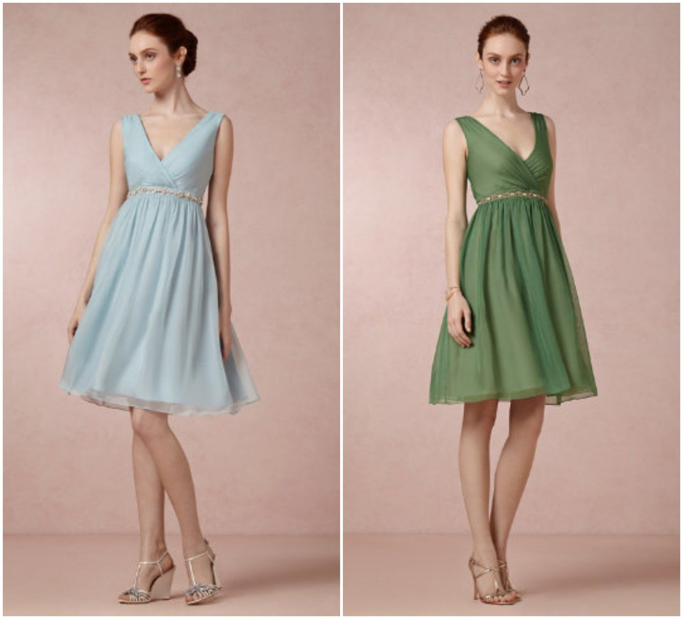 Garden Wedding Bridesmaid Dresses