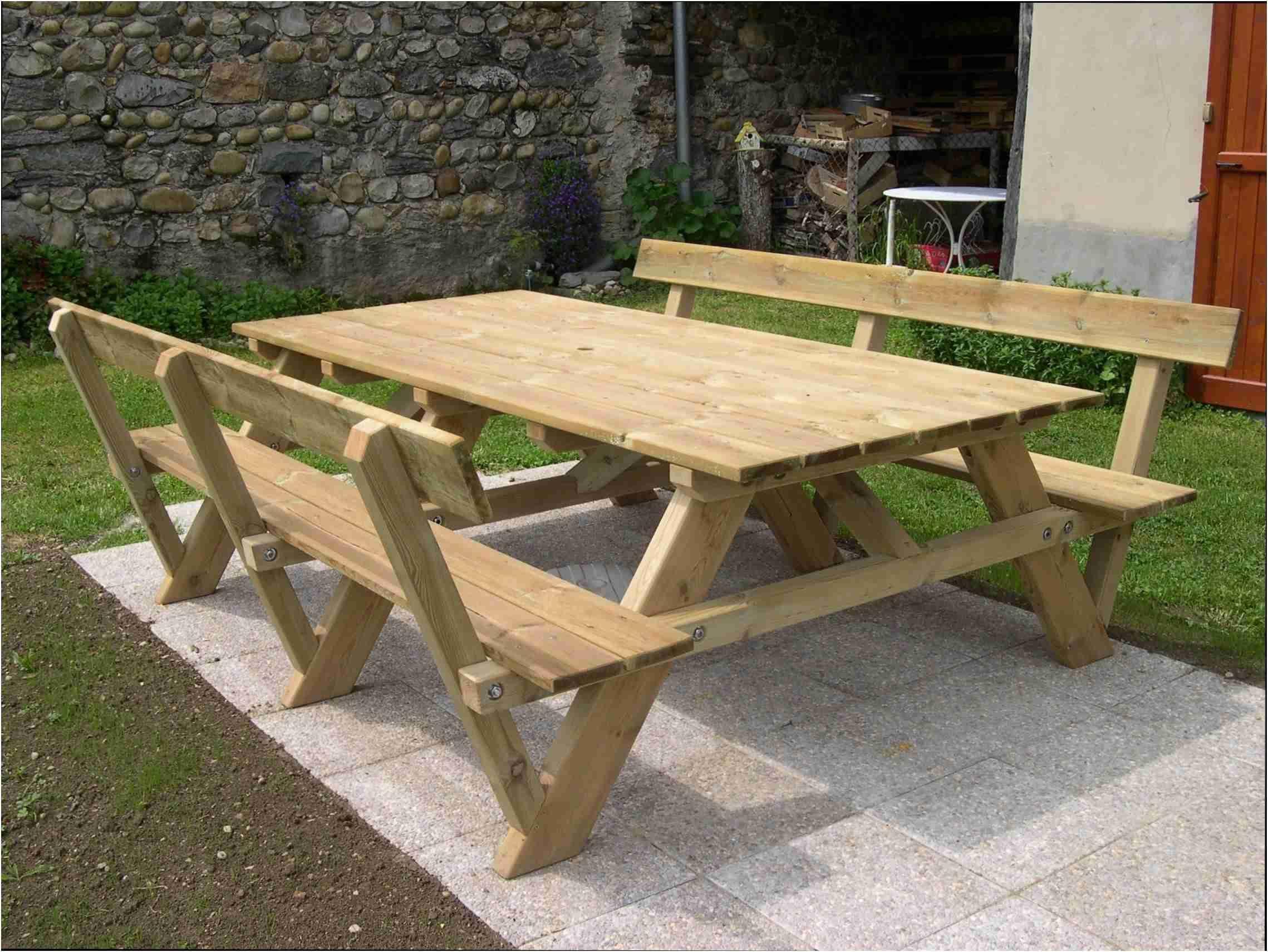 61 Regulier Table Exterieur En Bois Diy Picnic Table Picnic Table Plans Wooden Picnic Tables