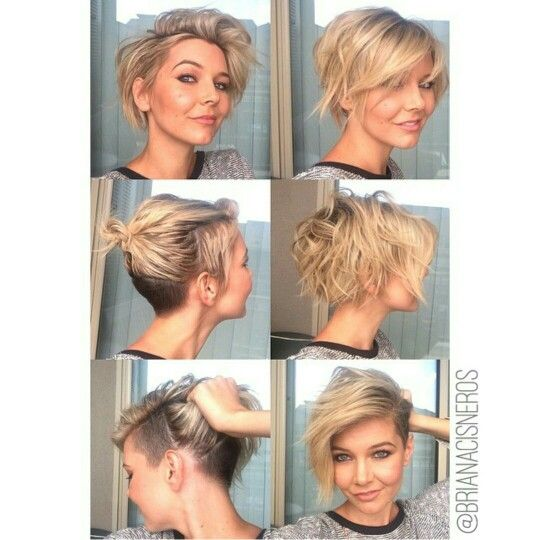 Texture. Undercut. Bob. Pixie. If I had the guts!!!