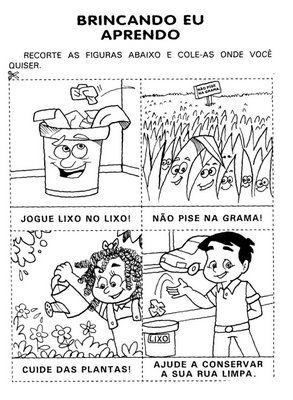 Jardim Colorido Da Tia Suh Atividades Para O Dia Do Meio Ambiente