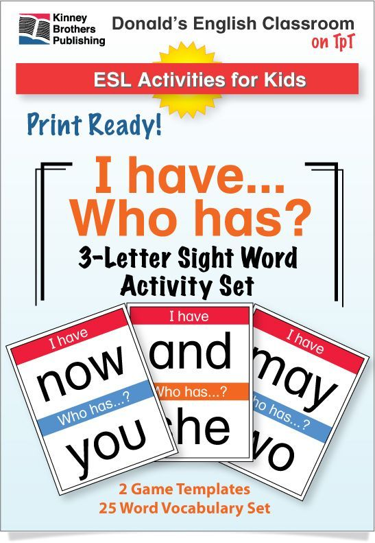 Esl games easy sight word i have who has activity 2 pinterest esl games easy sight word i have who has activity 2 pinterest fry s students and teacher expocarfo Image collections