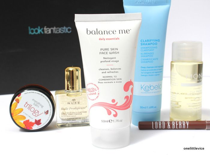 Look Fantastic's July Beauty Box Review - Balance Me Pure Skin Face Wash