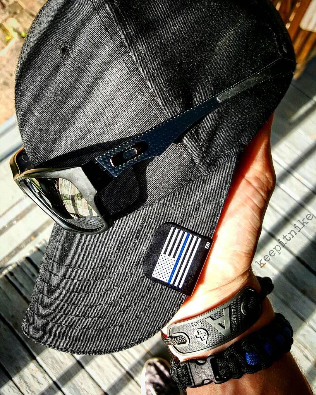 oakley thin blue line hat