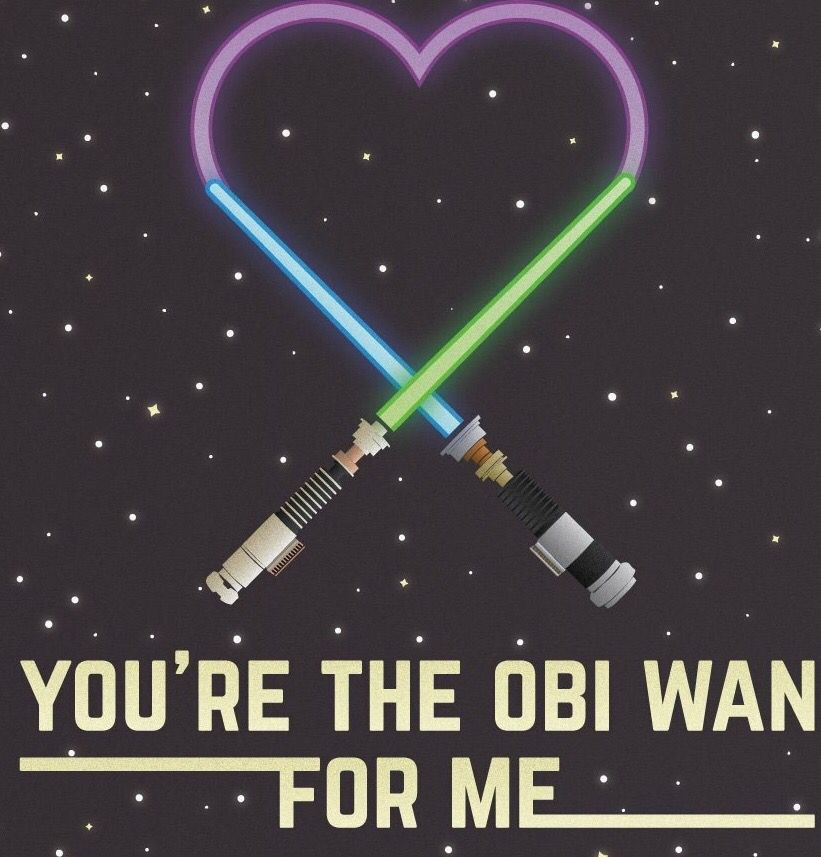 Aww Star Wars Love Star Wars Star Simple Star Wars Love Quotes