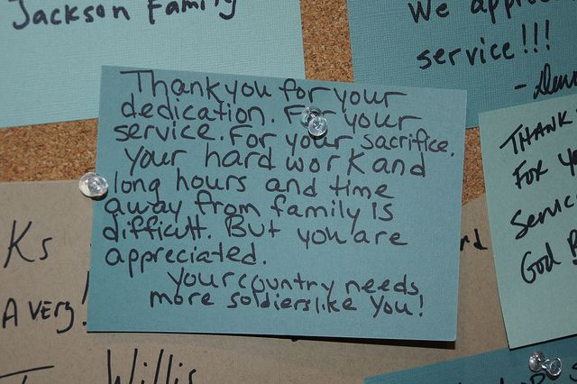 Thank A Soldier Art Installation Thank You Soldiers Thank You Letter Thank You Cards From Kids