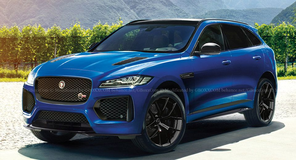 The Jaguar F Pace Svr Is Coming And It Ll Probably Look Like This