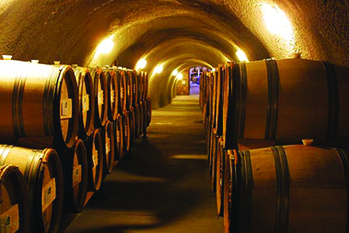 Our winery caves, Napa Valley | Napa valley wine tours ...