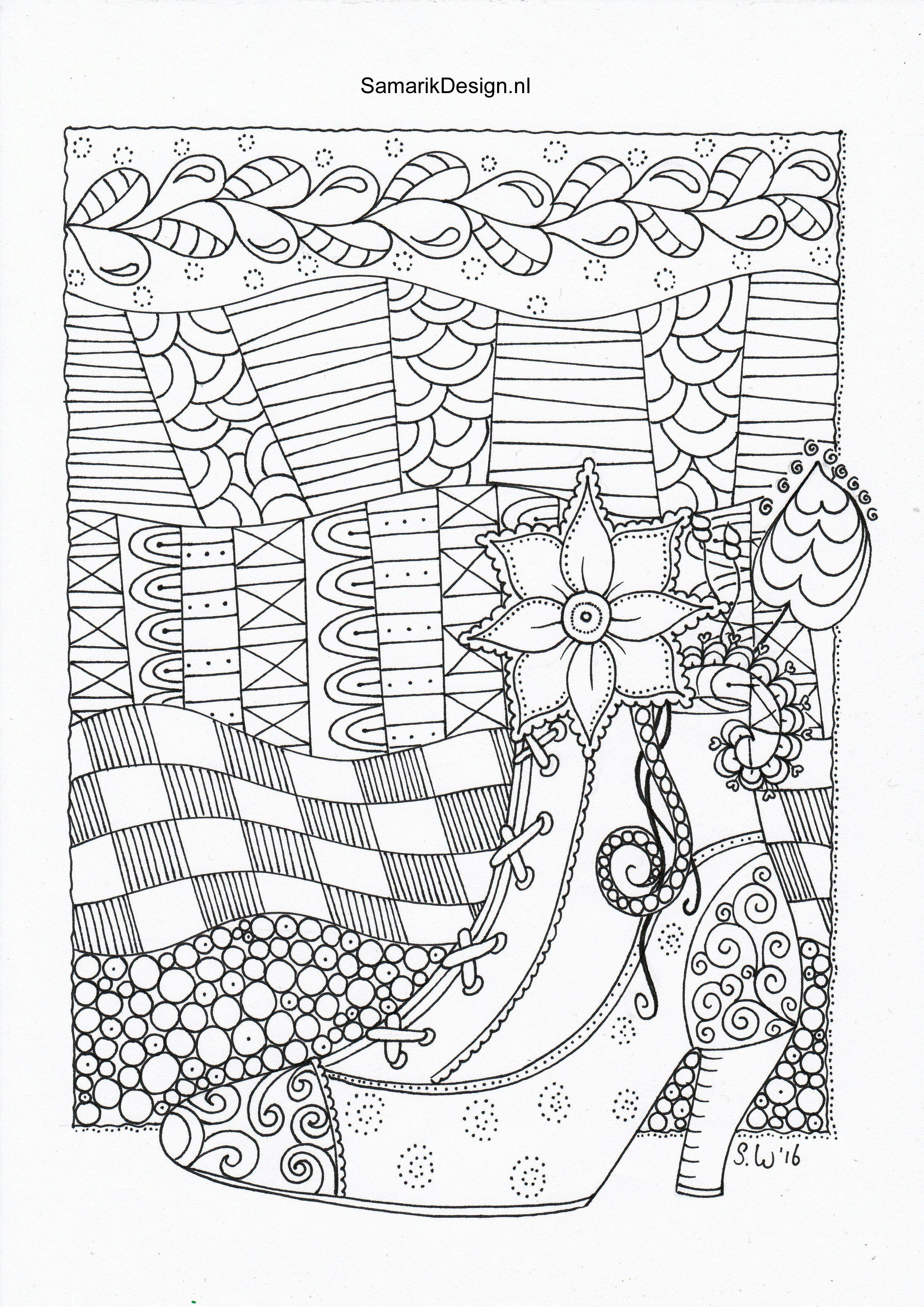 Kleurplaat Voor Volwassenen Doodle