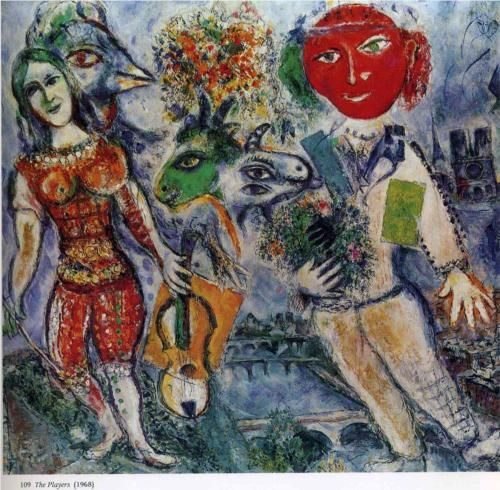 The Players - Marc Chagall