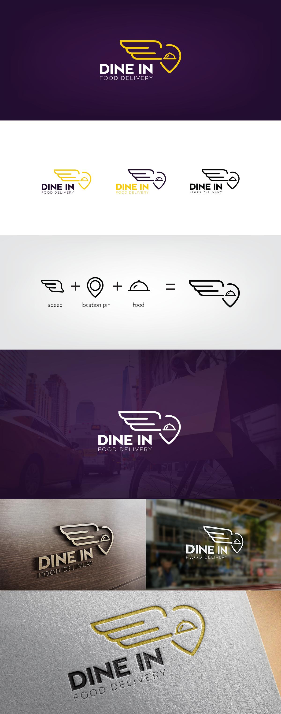 Dine In Food Delivery on Behance | GD3-Food Delivery Design ...