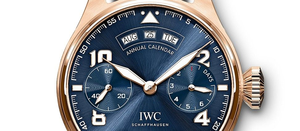 IWC Big Pilot s Watch Annual Calendar Edition