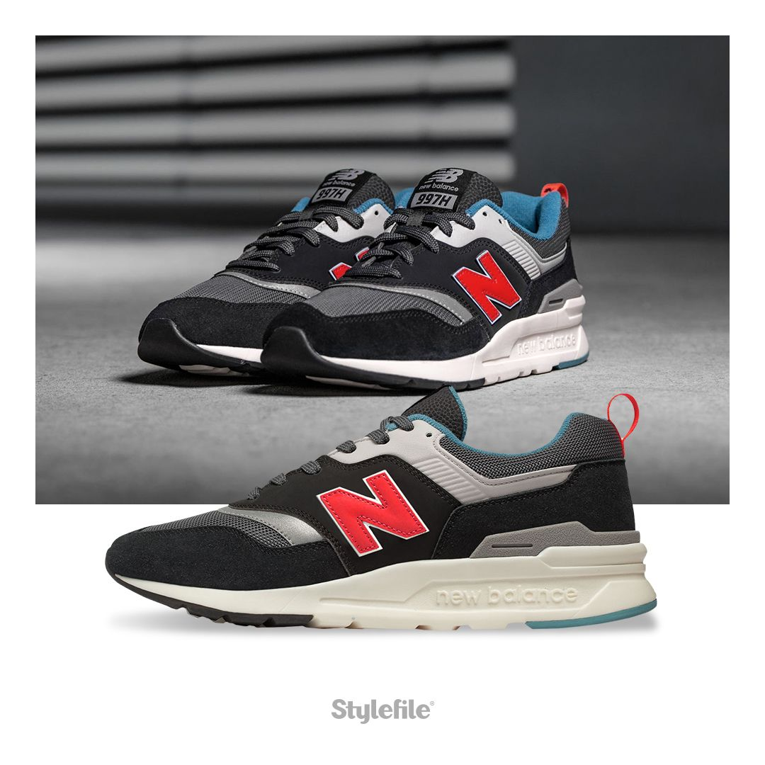 looks goodBlack knows sneaker with what red New Balance k8PXn0wO