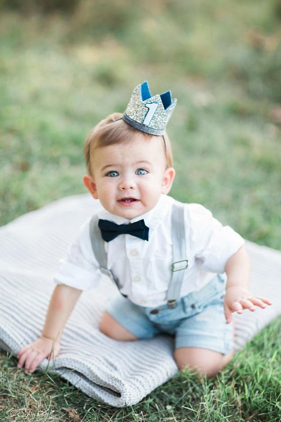 Baby Boy 1st Birthday Outfit.First Birthday Outfit Boy Birthday Crown Boy 1st Boy