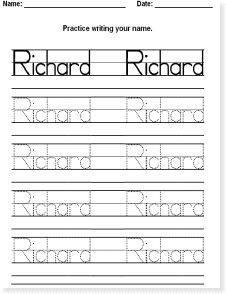 Instant Name Worksheet Maker | Genki English | Time 4 Literacy ...