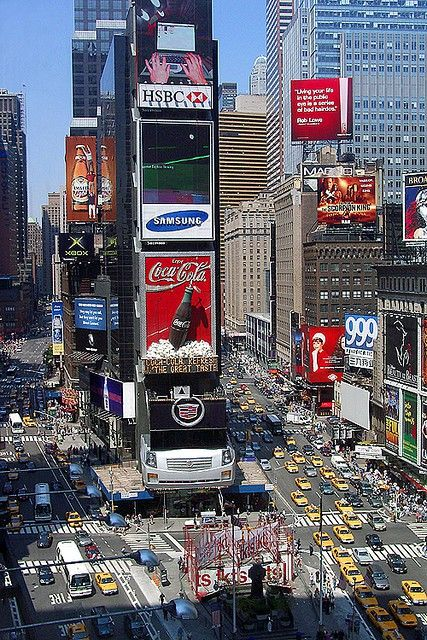 I WILL BE HERE TOMORROW!!!! Times Square