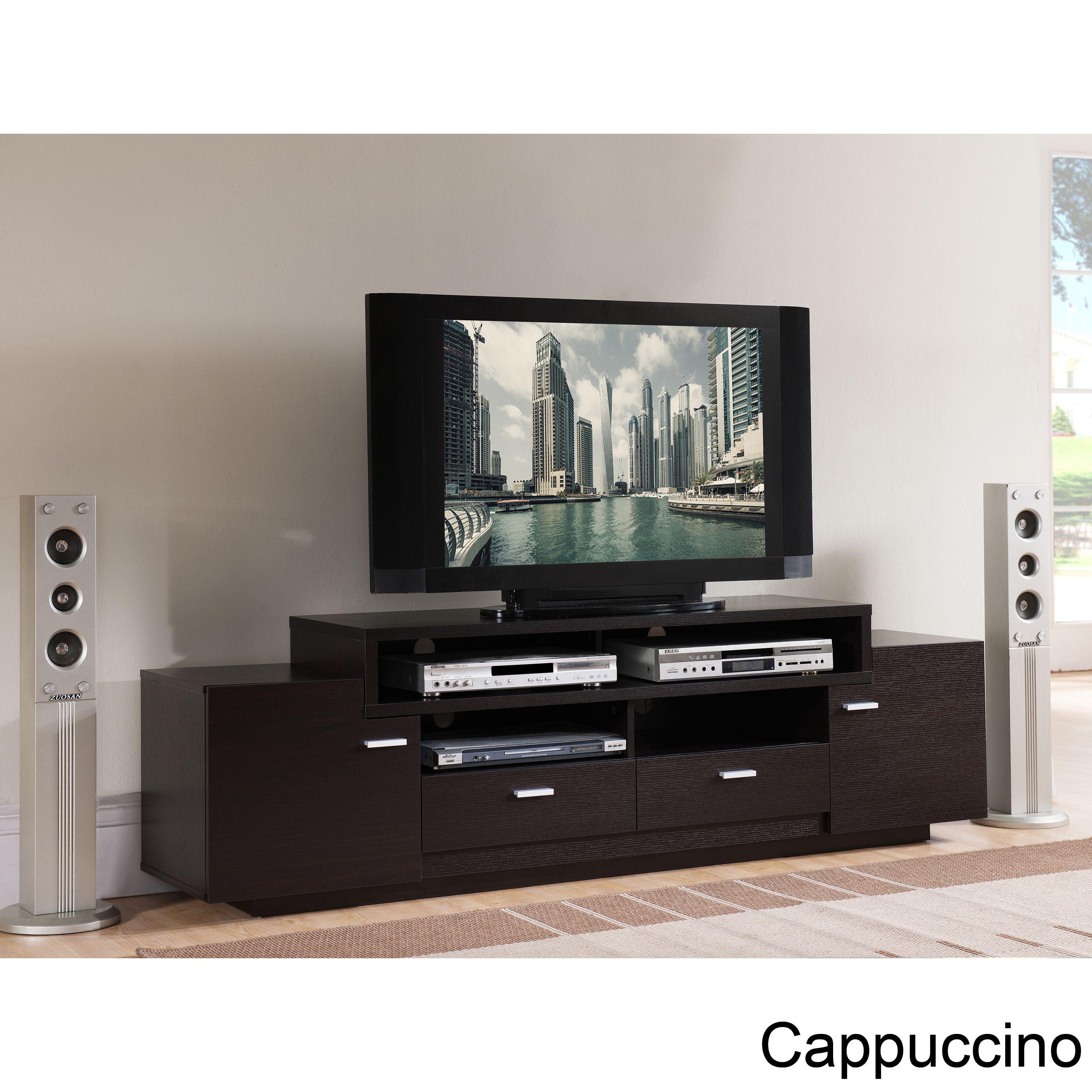 Furniture of America Peyton Modern Tiered TV
