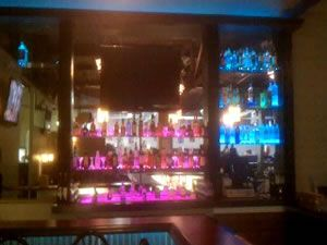 Arnolds bistro bar in wilkes barre pa used color changing led arnolds bistro bar in wilkes barre pa used color changing led lighting to make their bar shelves the center of attention leds work particularly well aloadofball Gallery