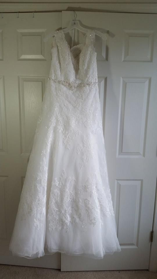 #wedding and #mybigday Oleg Cassini CWG672, $850 Size: 12 | New (Un-Altered) Wedding Dresses