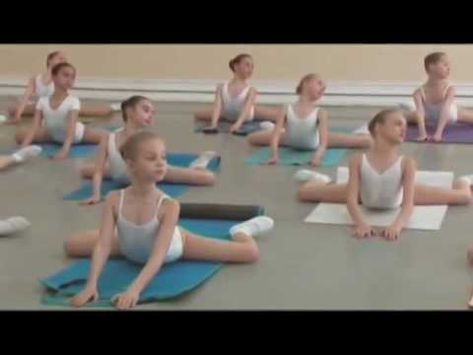 vaganova ballet academy stretching and flexibility