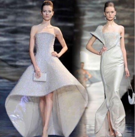 Giorgio Armani Wedding Dress