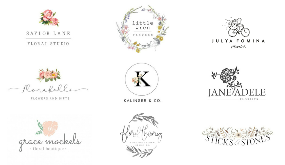 Image result for pretty logos canva | Business- Branding