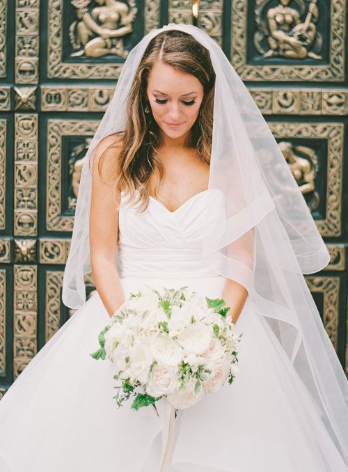 Just Married Jackie O Inspired Wedding