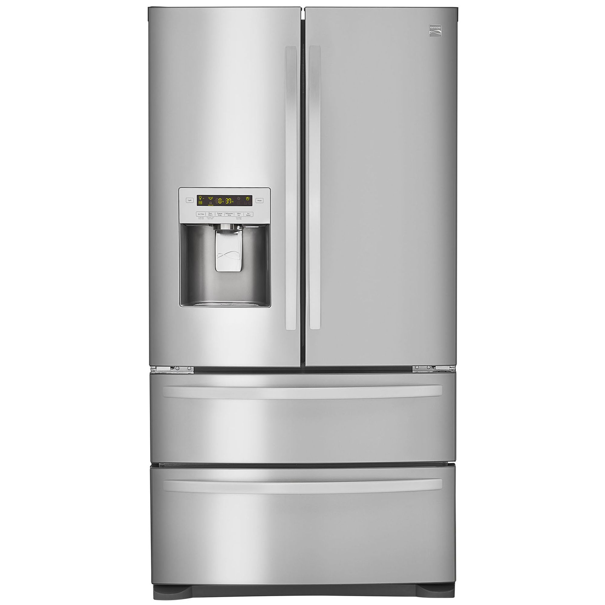 The 26 7 Cu Ft Refrigerator With Dual Freezer Drawers Makes It