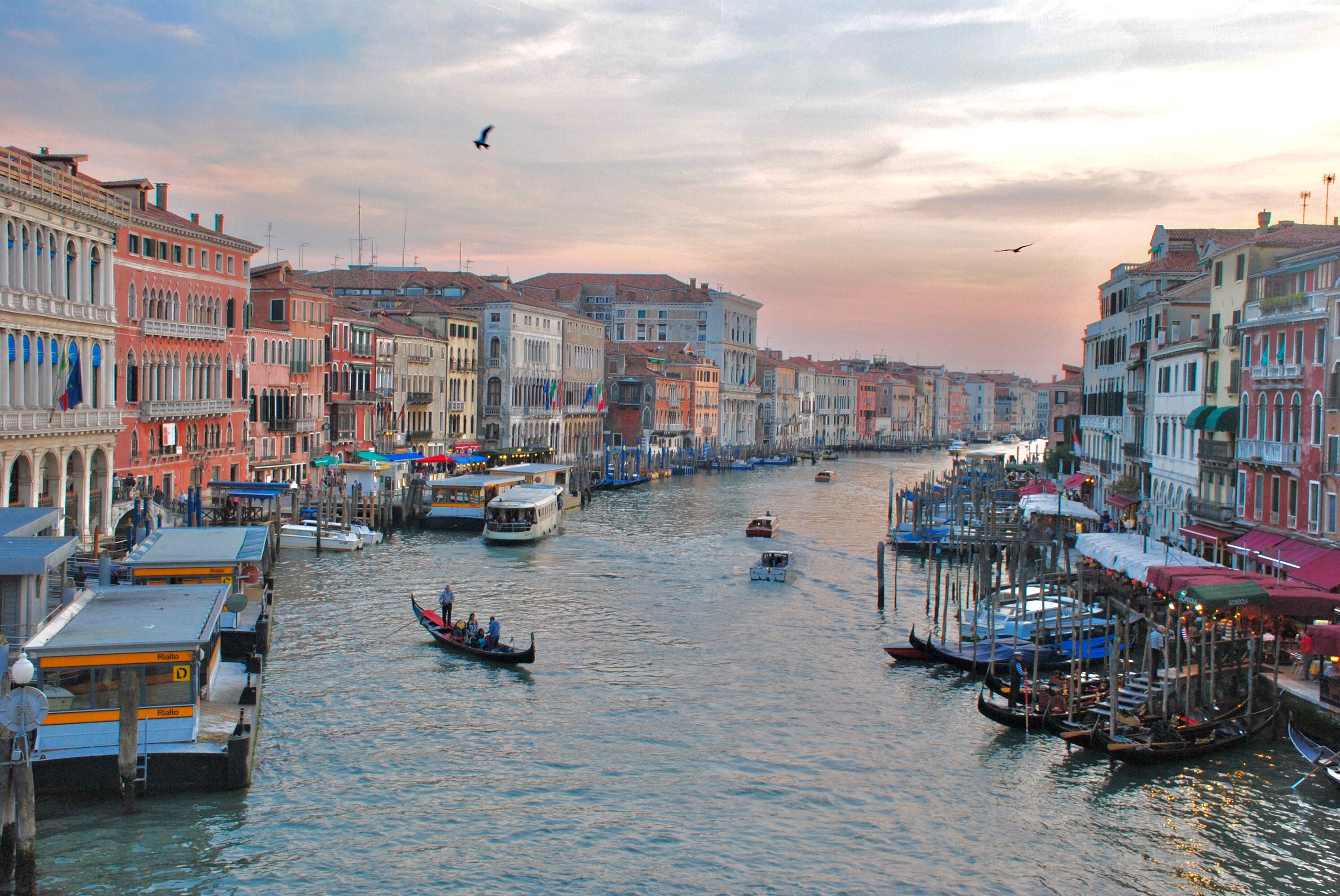 View from the Rialto Bridge...What it's really like to visit the Floating City