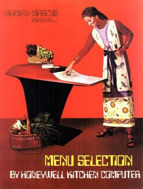 The Honeywell Kitchen Computer. 1969