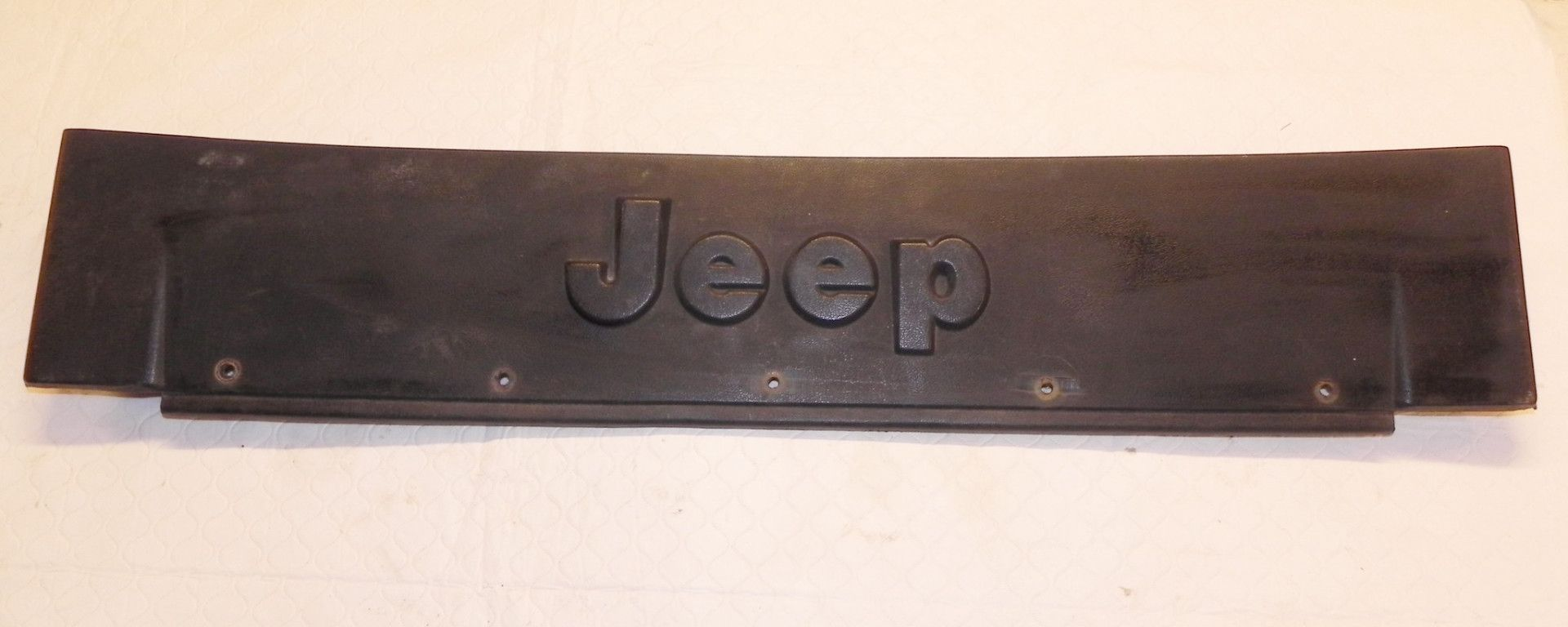 Jeep Wrangler YJ Front Frame Bumper Trim Cover 87-95 OEM   Products ...