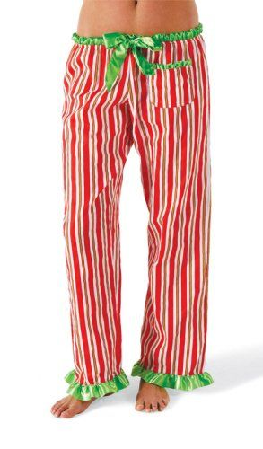 Women s Striped Christmas Pajama Pants Size  « Clothing Impulse ... ee2e5bcccc