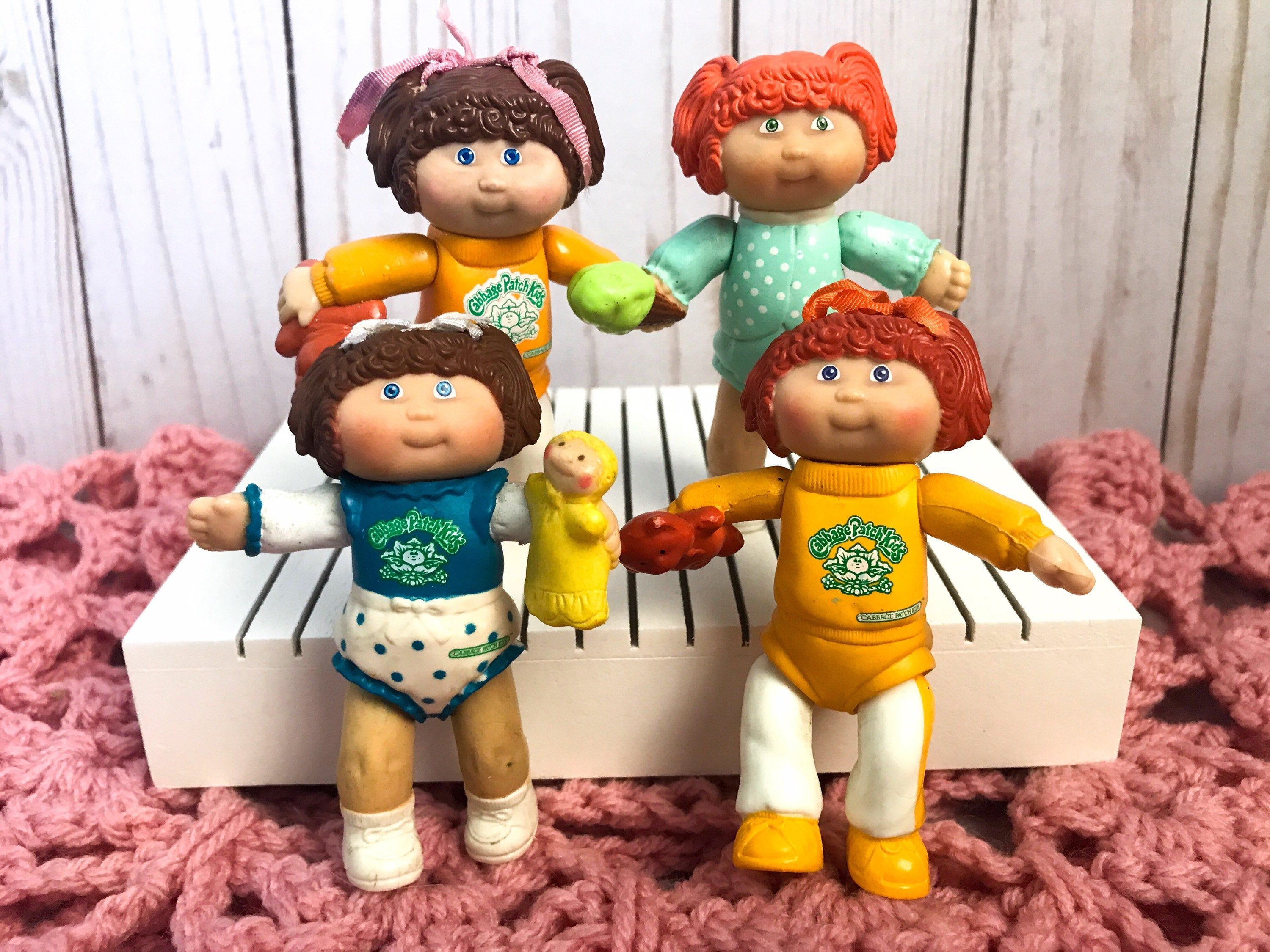 Cabbage Patch Kids Poseable Figures Baby Doll Vintage 80s Etsy In 2020 Cabbage Patch Kids Vintage Cabbage Patch Dolls Patch Kids