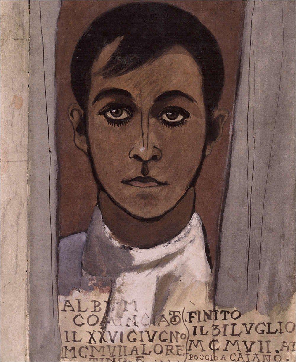 Ardengo Soffici · Autoritratto · 1907 · Museo Comunale Ardengo Soffici · Poggio a Caiano