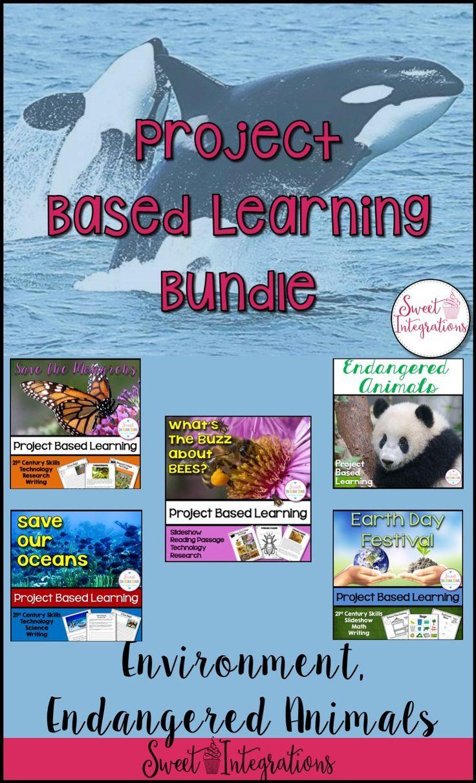 PROJECT BASED LEARNING BUNDLE: Endangered Species