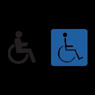 Handicap Sign Vector Free Download Png Free Png Images Vector Free Download Vector Free Vector Logo