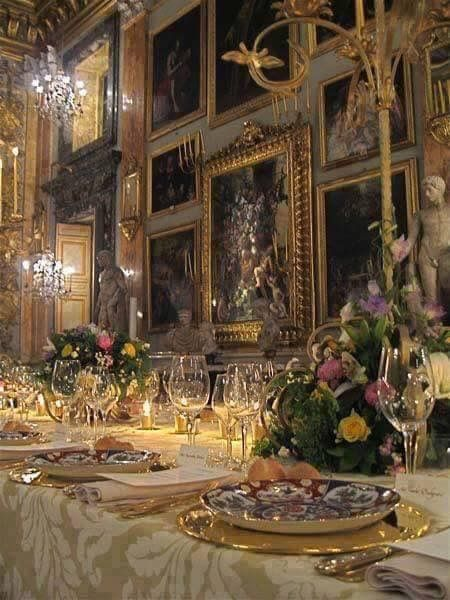 Chatsworth House Room: Pin By Joanne Wagner On Table Setting