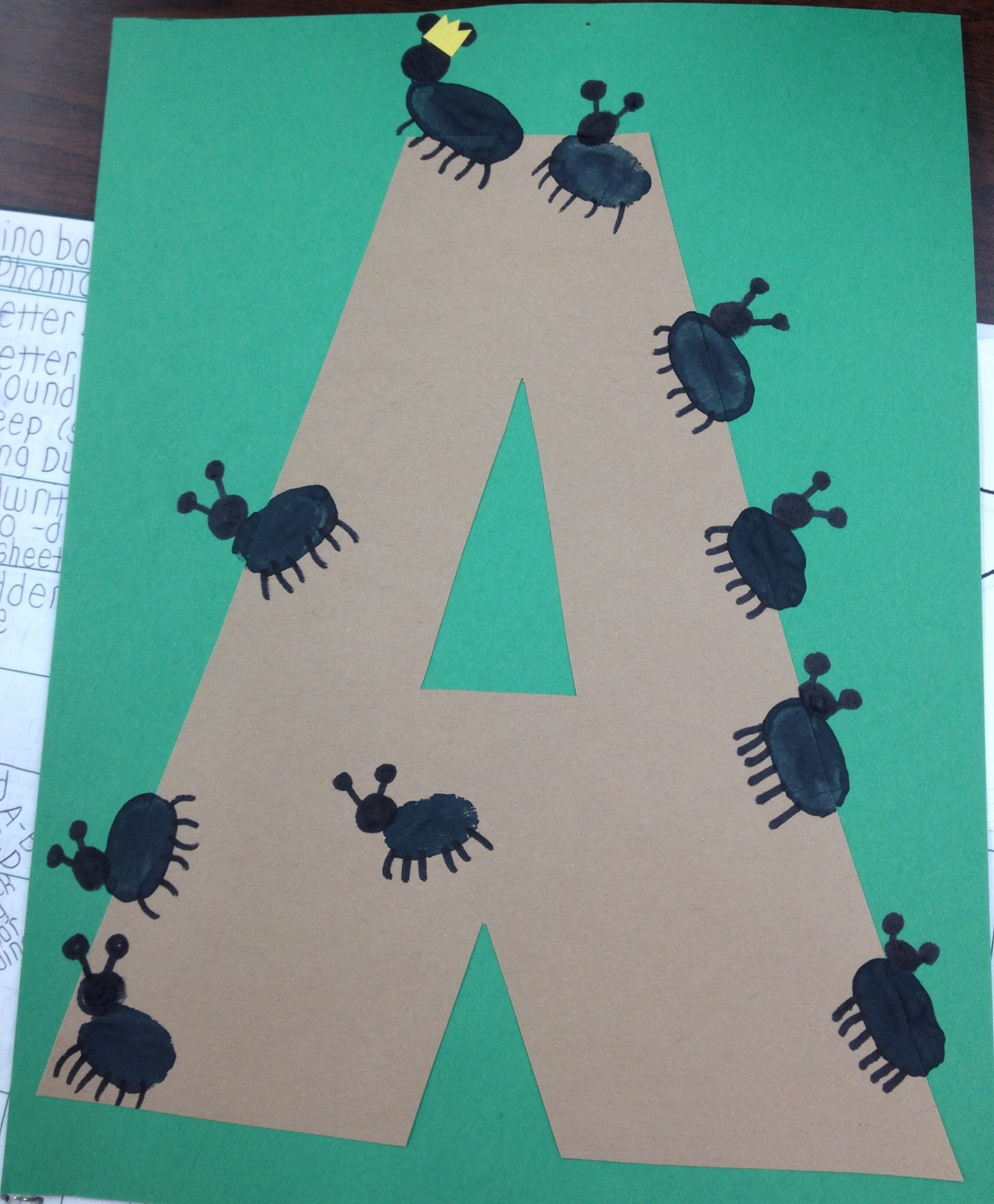 a for ant craft ant crafts pinterest ant crafts