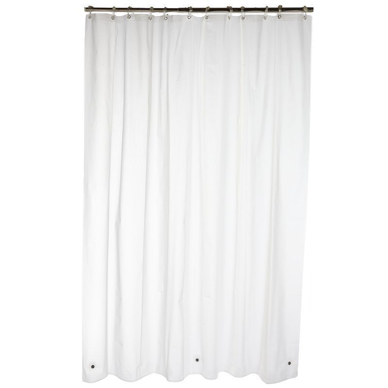 Home Classics 4 Gauge Waterproof Peva Shower Curtain Liner
